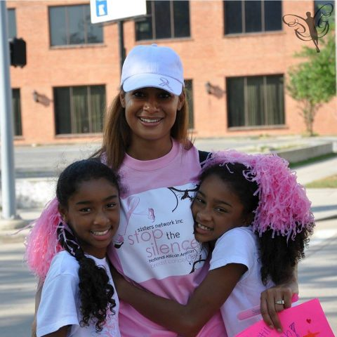 Dr. Cash volunteers her time to The Sisters Network® (SNI)