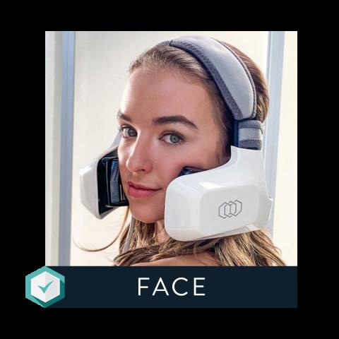 Evoke Face applicator for facial remodeling